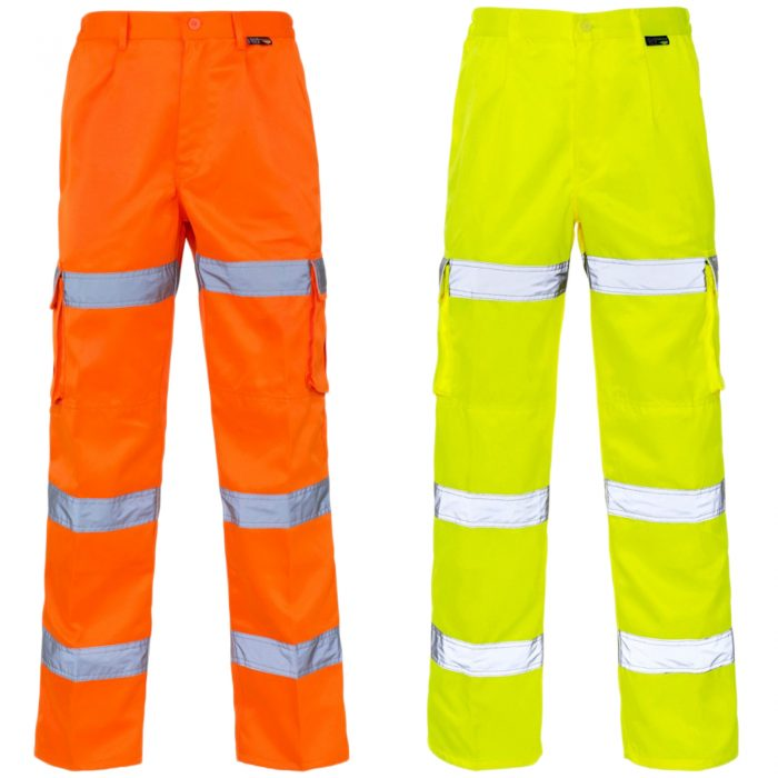 HI VIZ VIS 3 BAND COMBAT TROUSERS-3band-trousers-main1