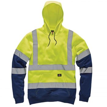 Dickies Hi Viz Myshoestore Yellow Navy
