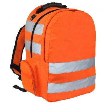 HI VIZ Backpack Orange 2017 1