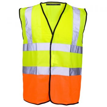 HI VIZ VIS VISIBILITY WAISTCOAT JACKET Vest Orange 2017 Vest Orange Navy 2017 Vest Orange Yellow 2017 Vest Yellow 2017 Vest Yellow Navy 2017 Vest Yellow Orange 2017