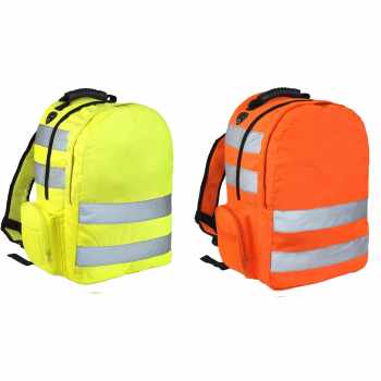 HI VIS VIZ BACKPACK WORK RUCKSACK