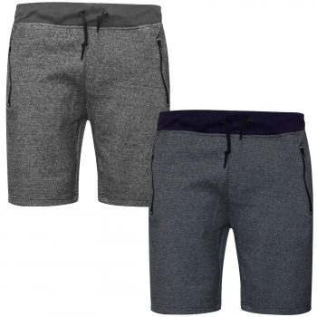 2 PACK MEN'S JOGGING SHORTS