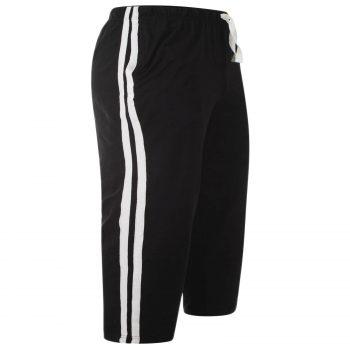 MEN'S CASUAL LOUNGE SHORTS Black