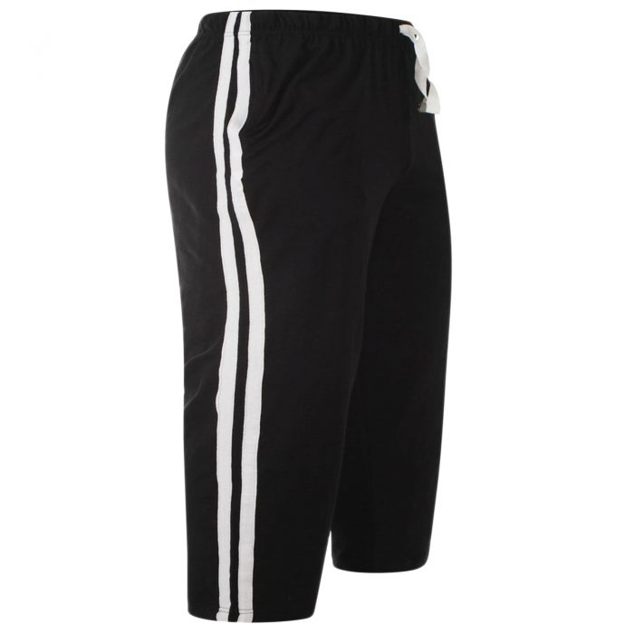 MEN'S CASUAL LOUNGE SHORTS-Black