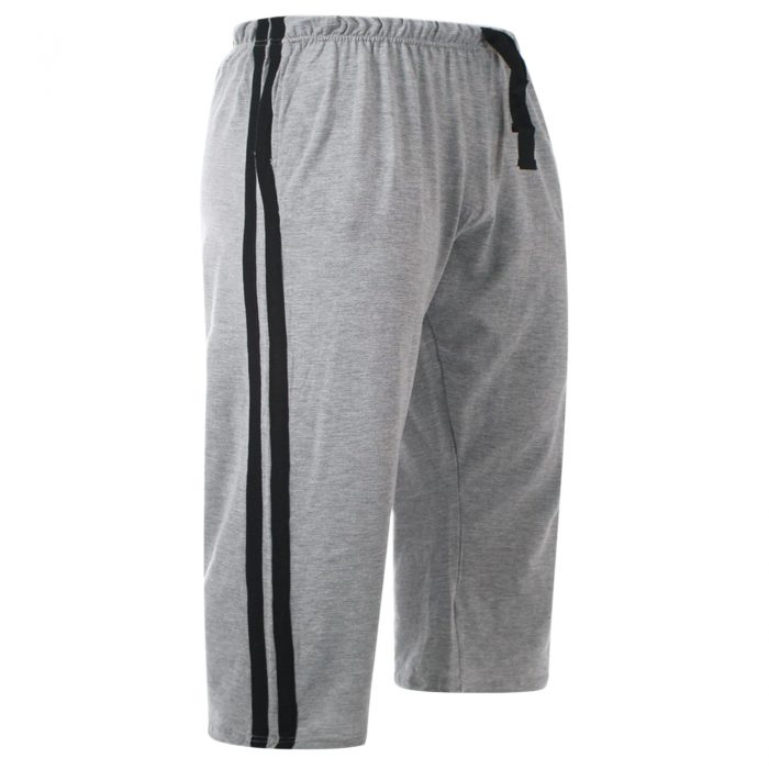 MEN'S CASUAL LOUNGE SHORTS-Grey