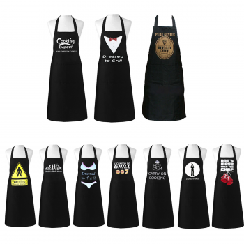 ADULT NOVELTY  BLACK APRONS