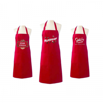 NOVELTY  RED APRONS