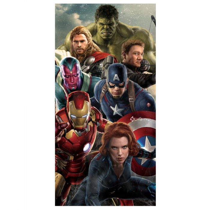 CHILDRENS DISNEY TOWEL-Avenger Ultron