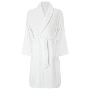 Bath Robe Off White 1