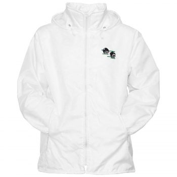 Unisex Bowling Fleece Lined Hooded Jacket