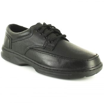 Dr Keller Mens Wide Fit Shoes Brian Black