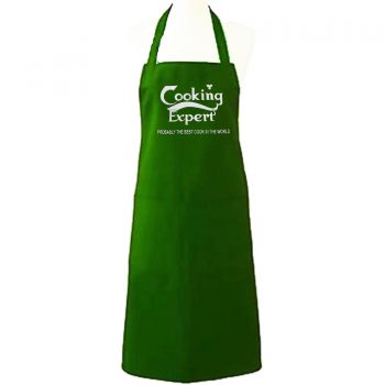 COOKING EXPERT GREEN APRON