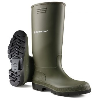DUNLOP WELLINGTONS BOOTS Green