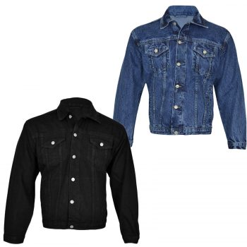 NEW MEN'S DENIM JEANS JACKET