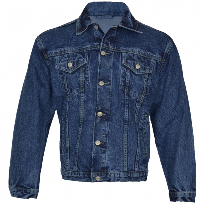Denim Jeans Jacket-blue