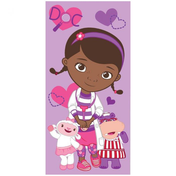CHILDRENS DISNEY TOWEL-Doc Mcstuffins