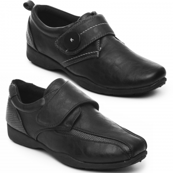 DR KELLER WOMEN'S TOUCH STRAP SHOES