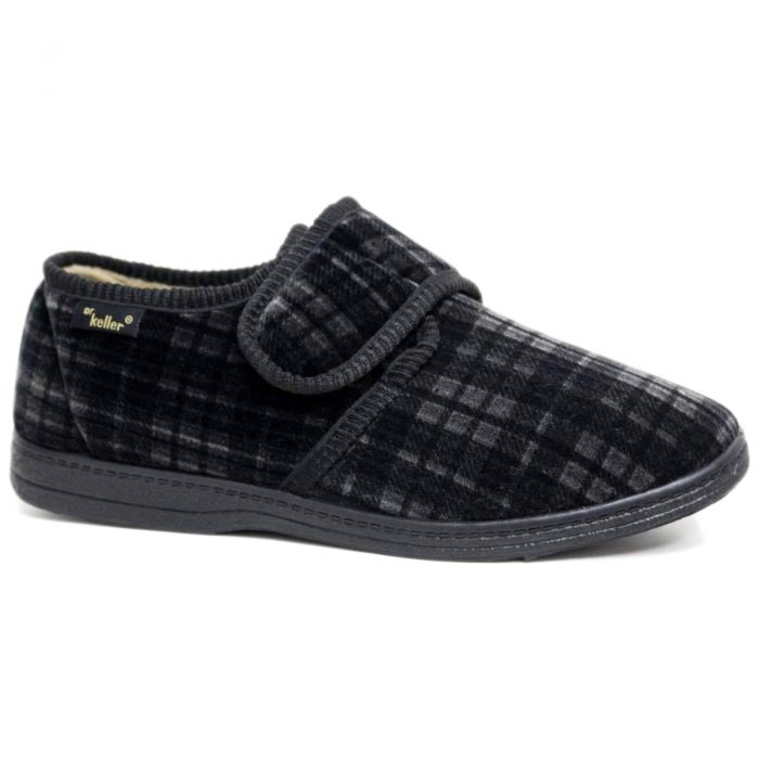 Dr Keller Slippers Black