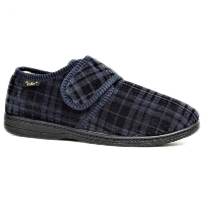 Dr Keller Slippers Navy