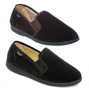 MEN'S CORD SLIP ON SHOES