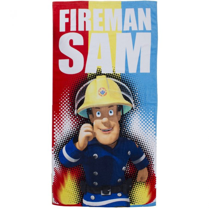 CHILDRENS DISNEY TOWEL-Fireman Sam