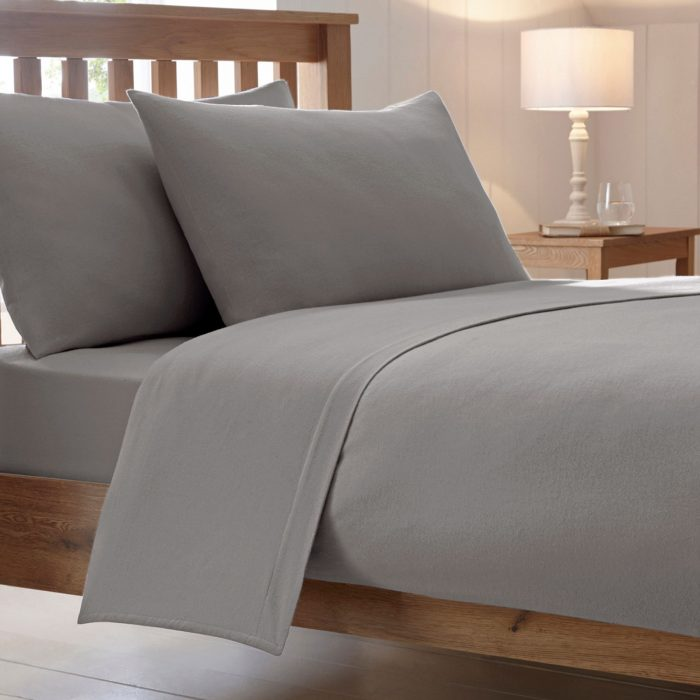 BED SHEET AND BEDDING- PILLOW CASES-grey
