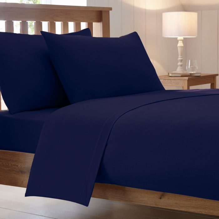 BED SHEET AND BEDDING PILLOW CASES-royal-blue