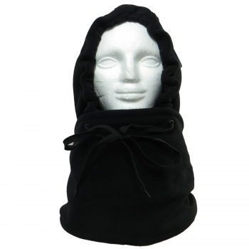 FLEECE SNOOD HOOD BALACLAVA