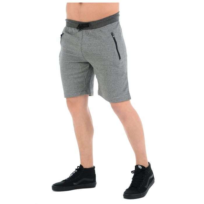 Fleece Shorts Grey 2