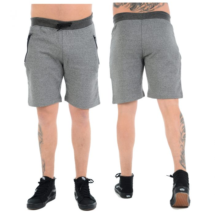 Fleece Shorts Main Grey