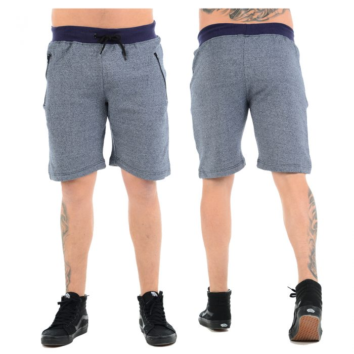 Fleece Shorts Main Navy
