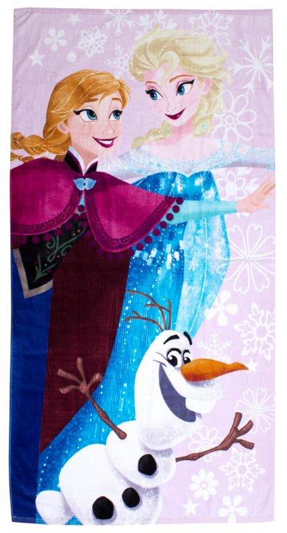 CHILDRENS DISNEY TOWEL-Frozen Winter Towel 1
