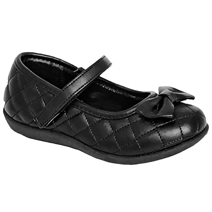 Girls school shoes Matt Bow 1