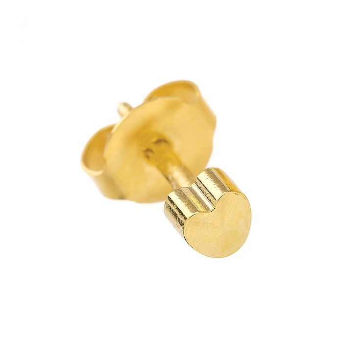 BRAND NEW EAR PIERCING STUDS EARRINGS STUD-Gold Heart