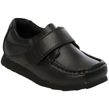BOYS SCHOOL VELCRO FREDRICK SHOES