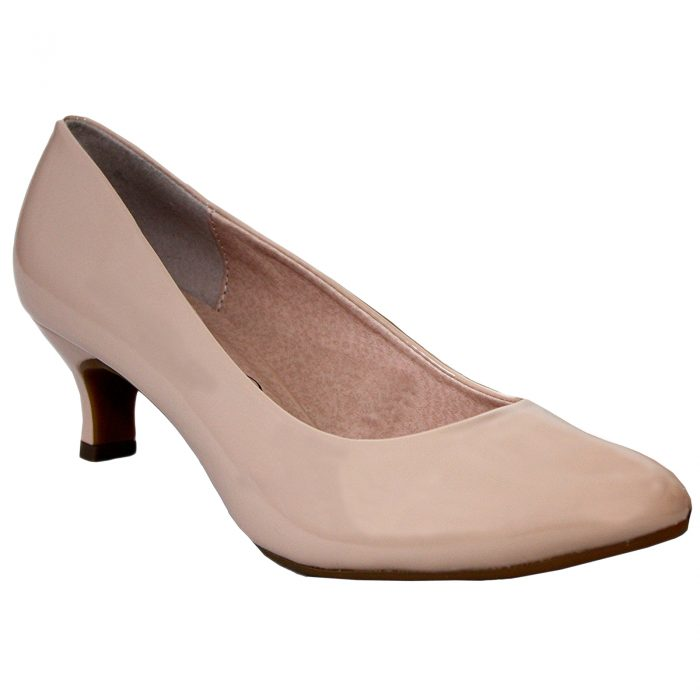 WOMEN COMFORT PLUS COURT SHOES-Texas Nude