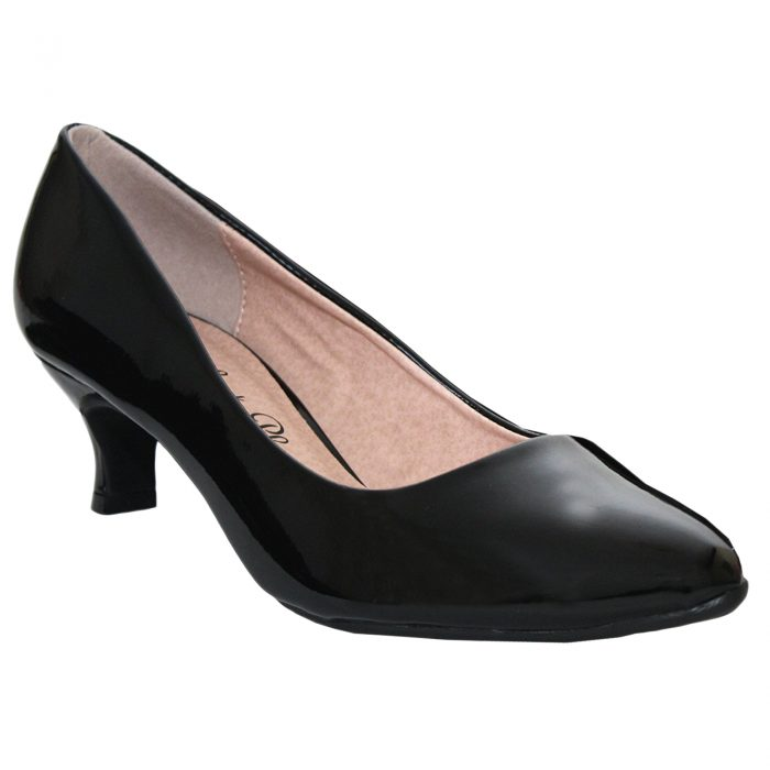 WOMEN COMFORT PLUS COURT SHOES-Texas Patent