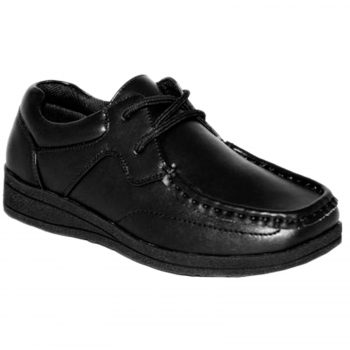 BOYS SCHOOL LACE UP LEATHER SHOES