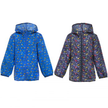 BOYS LIGHTWEIGHT HOODED RAIN MAC