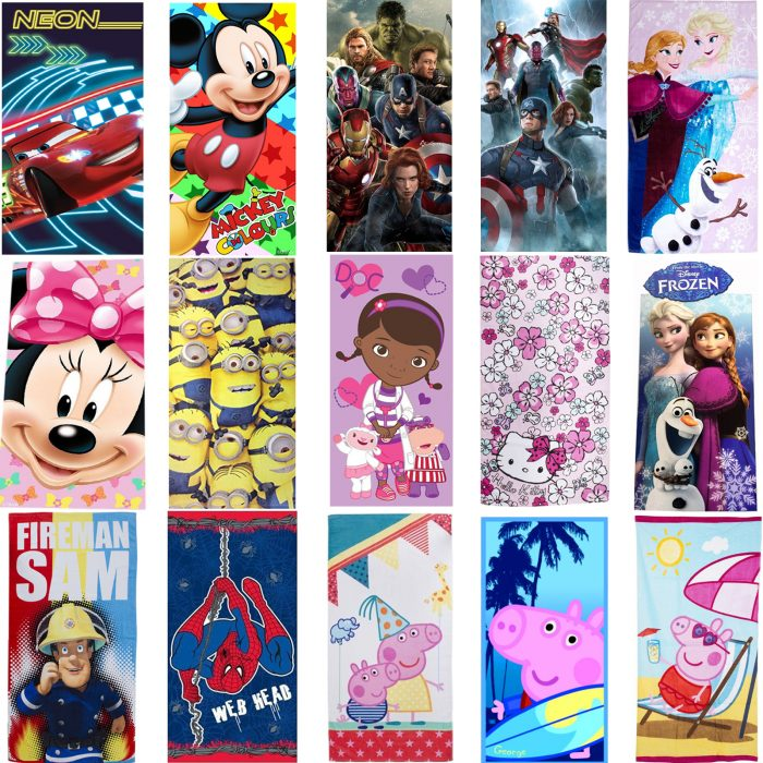 Kids Disney Towel Main 2 2016