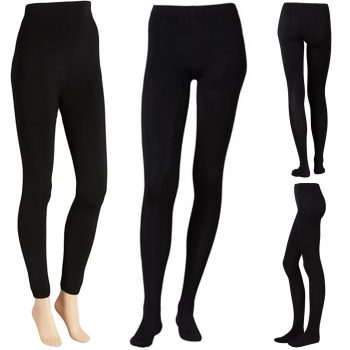 LADIES WARMING SOFT FLEECE TIGHTS