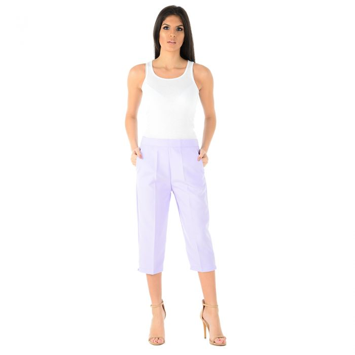 Ladies 3 Quarter Lilac