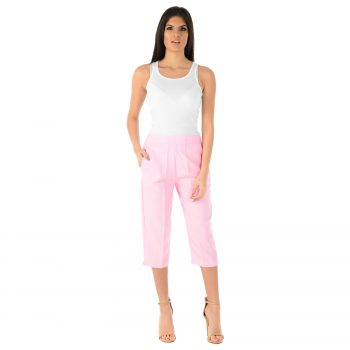 Ladies 3 Quarter Pink