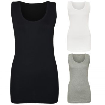WOMEN'S PLAIN SUMMER VEST
