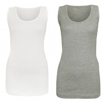 2-pack-Ladies-vest-white-grey