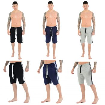 2 PACK MEN'S CASUAL LOUNGE SHORTS