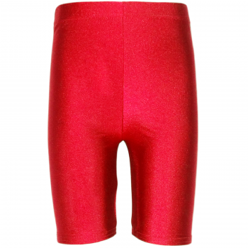 Lycra Shorts Red