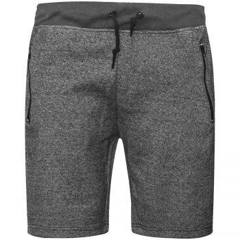 MENS JOGGING SHORTS Grey Band