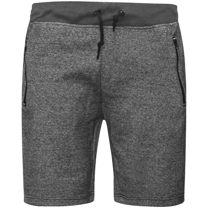 MENS JOGGING SHORTS-Grey Band