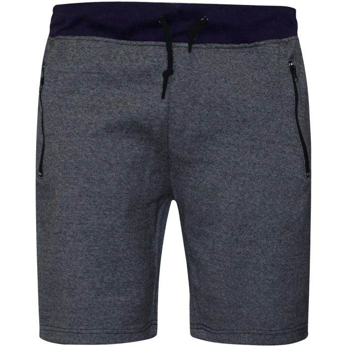 MENS JOGGING SHORTS-Navy Band